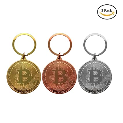 HAPPYX Bitcoin Coin Keychain Crypto Gift Set Collectors ...