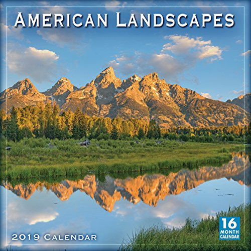 2019 American Landscapes 16-Month Wall Calendar: by Sellers Publishing, 12
