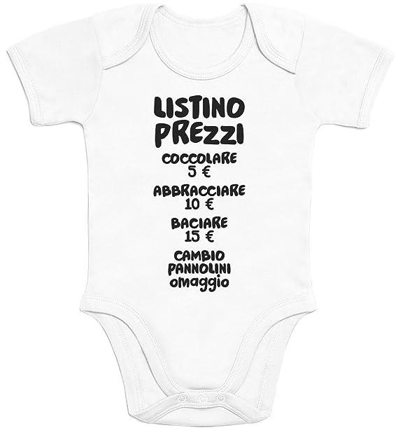 f751d05b7618dc Shirtgeil Baby Bambini Listino Prezzi - Idee Regalo Body Neonato Manica  Corta 0-3 Mesi