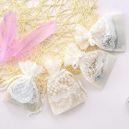 Funihut - 10 Bolsas para Caramelos - Bolsas para Joyas de ...