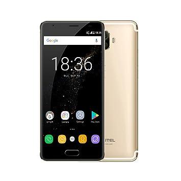 Oukitel K8000 4G Smartphone 5.5 Pulgadas HD 1280x720P Pantalla Android 7.0 16MP + 2MP Cámaras Posteriores Duales 13MP Fuente Cámara 4G RAM 64G ROM Reconocimiento de Huellas Dactilares 8000mAh OTG: Amazon.es: Electrónica