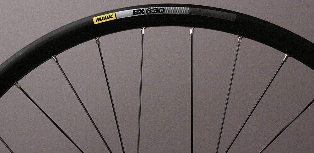 Rear Black - Rear Boost - 27.5 x 2.25 Mavic 2017 Crossmax Elite Cross Country Mountain Bicycle Wheel Tire System