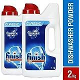 Finish Dishwasher Detergent - 1 kg (Pack of 2)