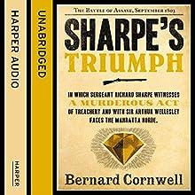 Sharpe's Triumph: The Battle of Assaye, September 1803 (The Sharpe Series, Book 2) Audiobook by Bernard Cornwell Narrated by Rupert Farley