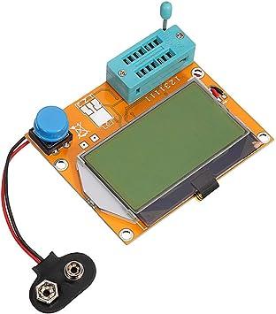 Medidor de resistencia para transistor gr/áfico LCD ESR SCR QuickShop LCR-T4 12864