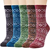 5 Pairs Womens Animal Socks