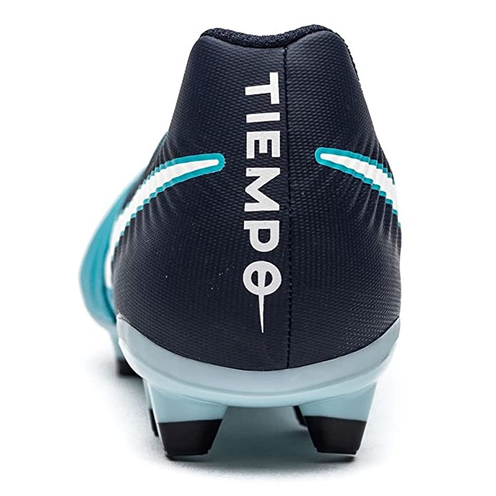 Nike Tiempo Ligera IV FG, Chaussures de Football Homme, Blau (Gamma Blau/Weiß-Obsidian Blau-Gletscher Blau 414), 40 EU