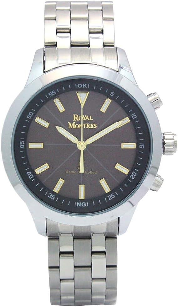 [ロイヤルモントレス] 腕時計 RM-0007 BK-WH シルバー