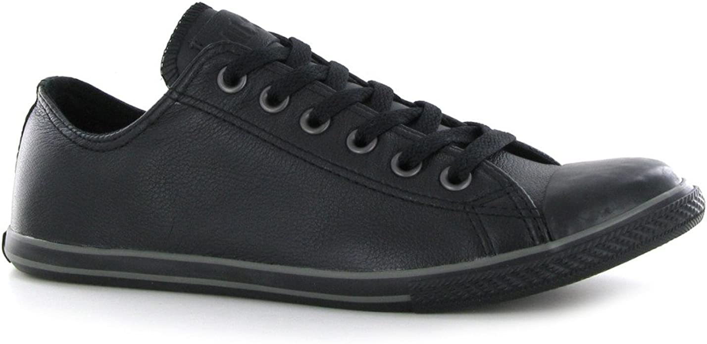 Converse CT Slim Ox Black Leather Mens