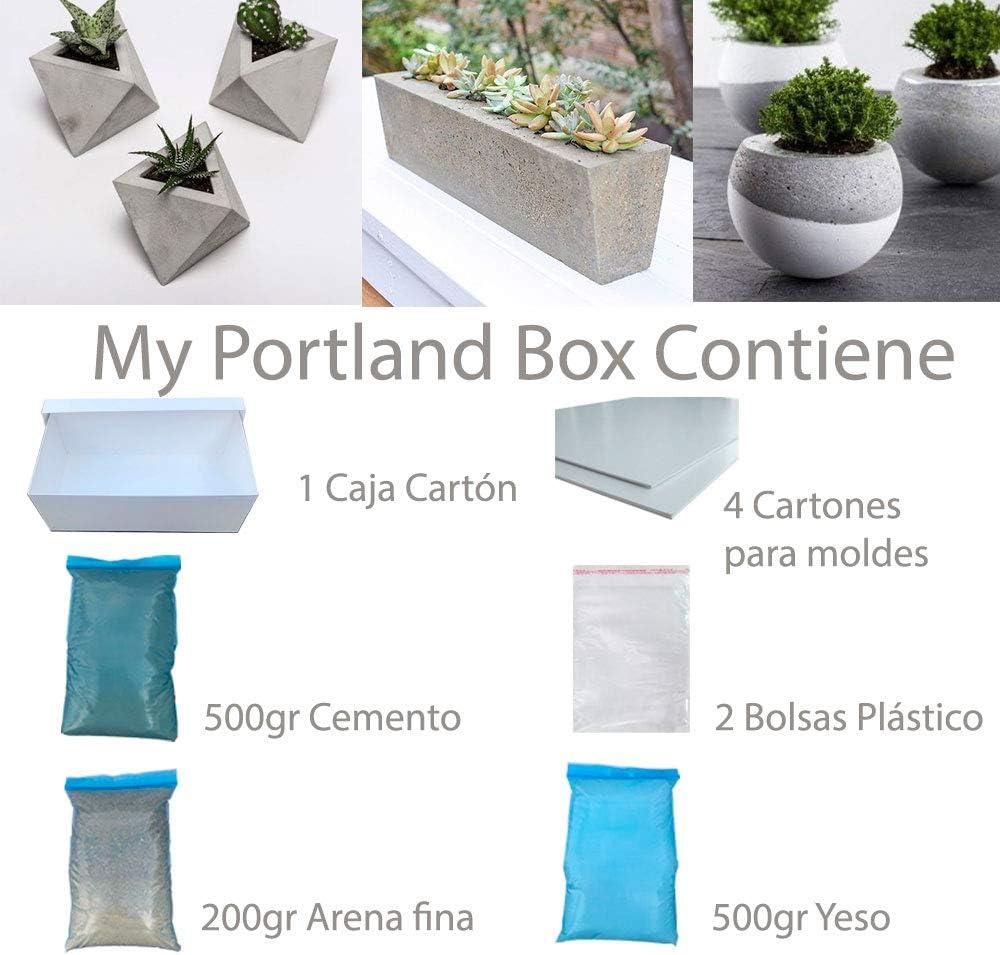 MY Portland Box - Set CONSTRUCCIÓN, Manualidades, Creatividad ...