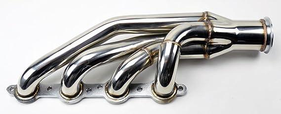 Colector de escape Turbo para motor de bloque pequeño LS1, LS2, LS3, LS6, LSX: Amazon.es: Coche y moto
