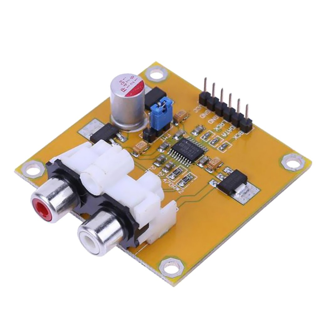PCM5102 ASSEMBLED DAC decoder I2S player 32bit 384K beyond es9023 or PCM1794
