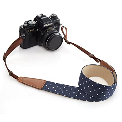 BESTTRENDY Universal Camera Neck Shoulder Strap, Casual Vintage Neck  Shoulder Camera Belt for All DSLR Camera Nikon/Canon / Sony/Olympus /
