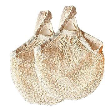 WE-WIN 2PCS bolsas de comestibles reutilizables Bolsa de ...