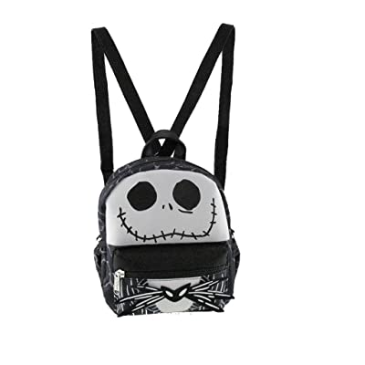 "Nightmare Before Christmas Jack Style 8"" x-Small 2-in-1 Cross-body bag/Mini Backpack 