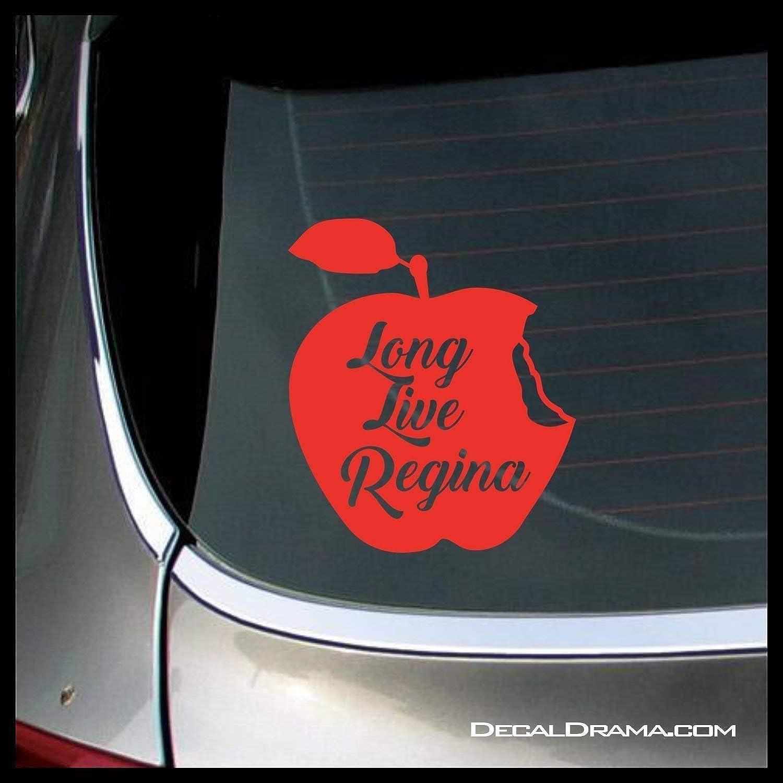 Long Live Regina the Evil Queen SMALL Vinyl Car//Laptop Decal