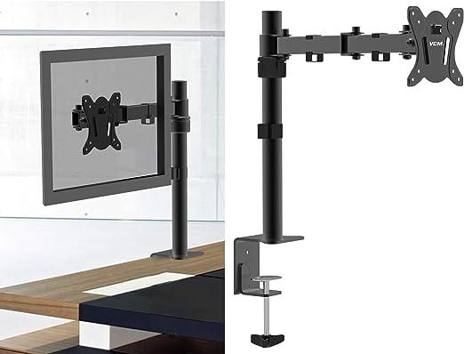 VCM Monitor TFT Schwenkarm Tisch Schreibtisch Halterung