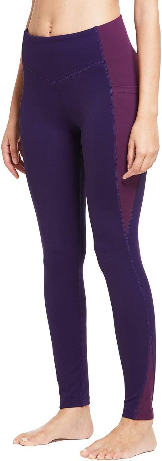 Plus Size//Regular BALEAF Womens 20 28 High Waisted Yoga Leggings Workout Capri Tummy Control Pants with Pocket