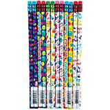 Raymond Geddes Its your Birthday Pencil, 72 Pack (69608)
