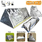 EMDMAK Emergency Mylar Thermal Survival Tent