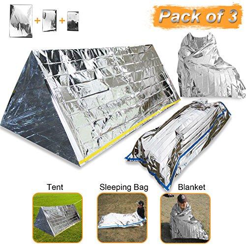 EMDMAK Emergency Mylar Thermal Survival Tent