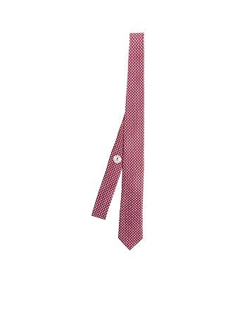 Z Zegna Cravatta Uomo Z4w041l7d Seta Rosso  Amazon.it  Abbigliamento ef4d6693c1d