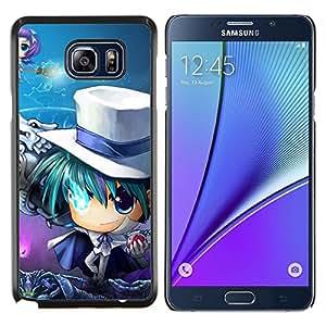 "Be-Star Único Patrón Plástico Duro Fundas Cover Cubre Hard Case Cover Para Samsung Galaxy Note5 / N920 ( Anime japonés"" )"