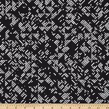 Andover 0452089 True Love Libs Elliott Mathcore Black Fabric by The Yard