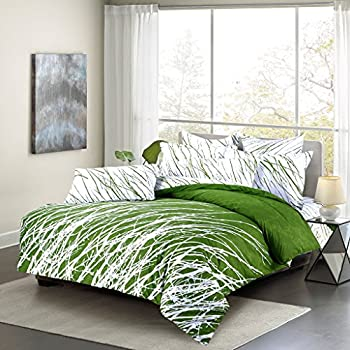 bedding kime green lotus katie products bed