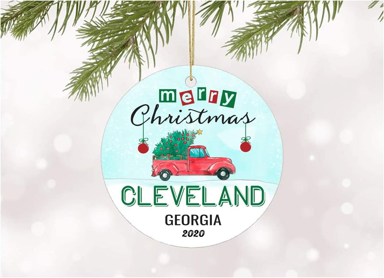 Christmas In Cleveland 2020 Amazon.com: Ornament Decoration Merry Christmas 2020 Cleveland