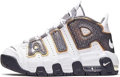 Portero colchón vía  Amazon.com: Nike Air More Uptempo Se (ps) Niños Pequeños Cq4581 ...