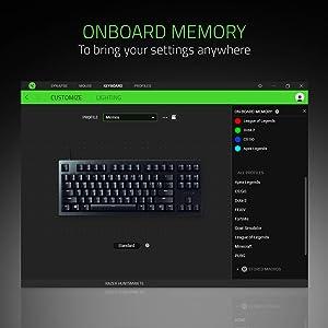Razer Huntsman Tournament Edition TKL Tenkeyless Gaming Keyboard: Linear Optical Switches - Instant Actuation - Customizable Chroma RGB Lighting - Programmable Macro Functionality - Matte Black (Color: Matte Black, Tamaño: Keyboard)