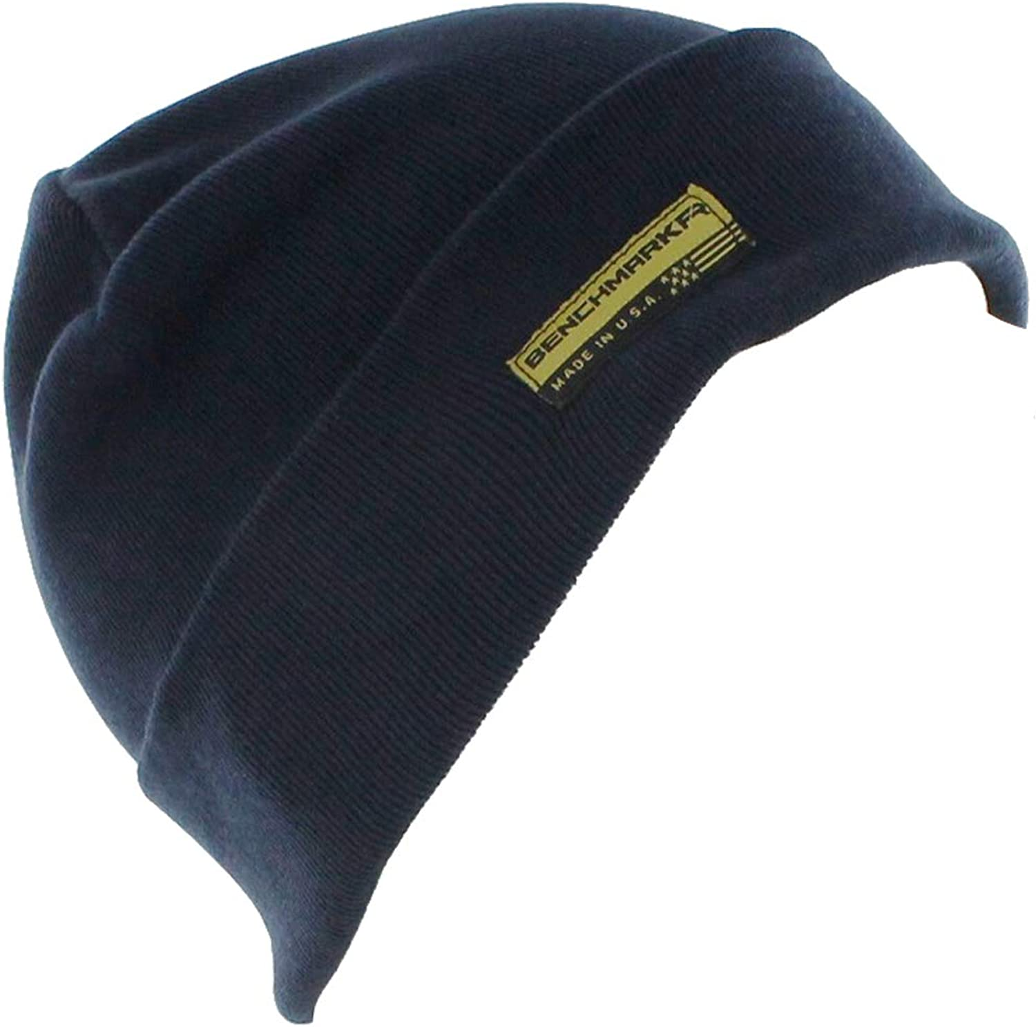 BENCHMARK FR Flame Resistant Beanie, Navy, CAT 3, One Size, Made in USA