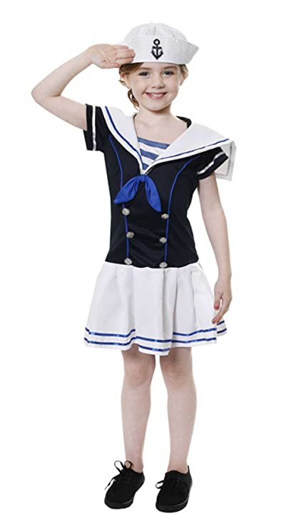 Henbrandt Girls Sailor Costume