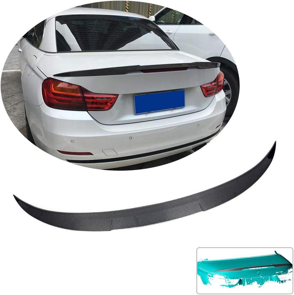 Carbon Fiber Rear Trunk Spoiler Wing Lip Fit for 2014-2018 BMW F36 4-Series 428i 430i Gran Coupe 4-Door