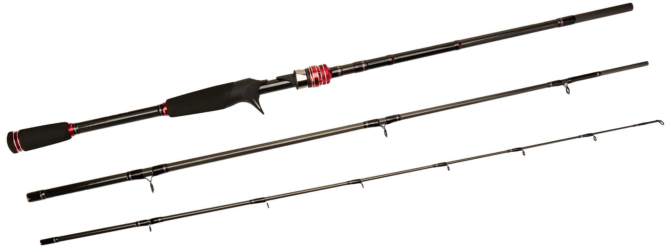 Daiwa Ardito-TR Travel Trigger Rod (3 Piece), Medium/7' by Daiwa