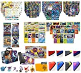 Totem World Christmas Gift Pokemon Cards Super Premium Collection Collector Chest - 2 Secrets Rares, 2 MEGAs, 2 GXs, 2 EXs, 20 Rares, 4 Boosters, Playmat, Sleeves, Totem Deck Box and Mini Binder