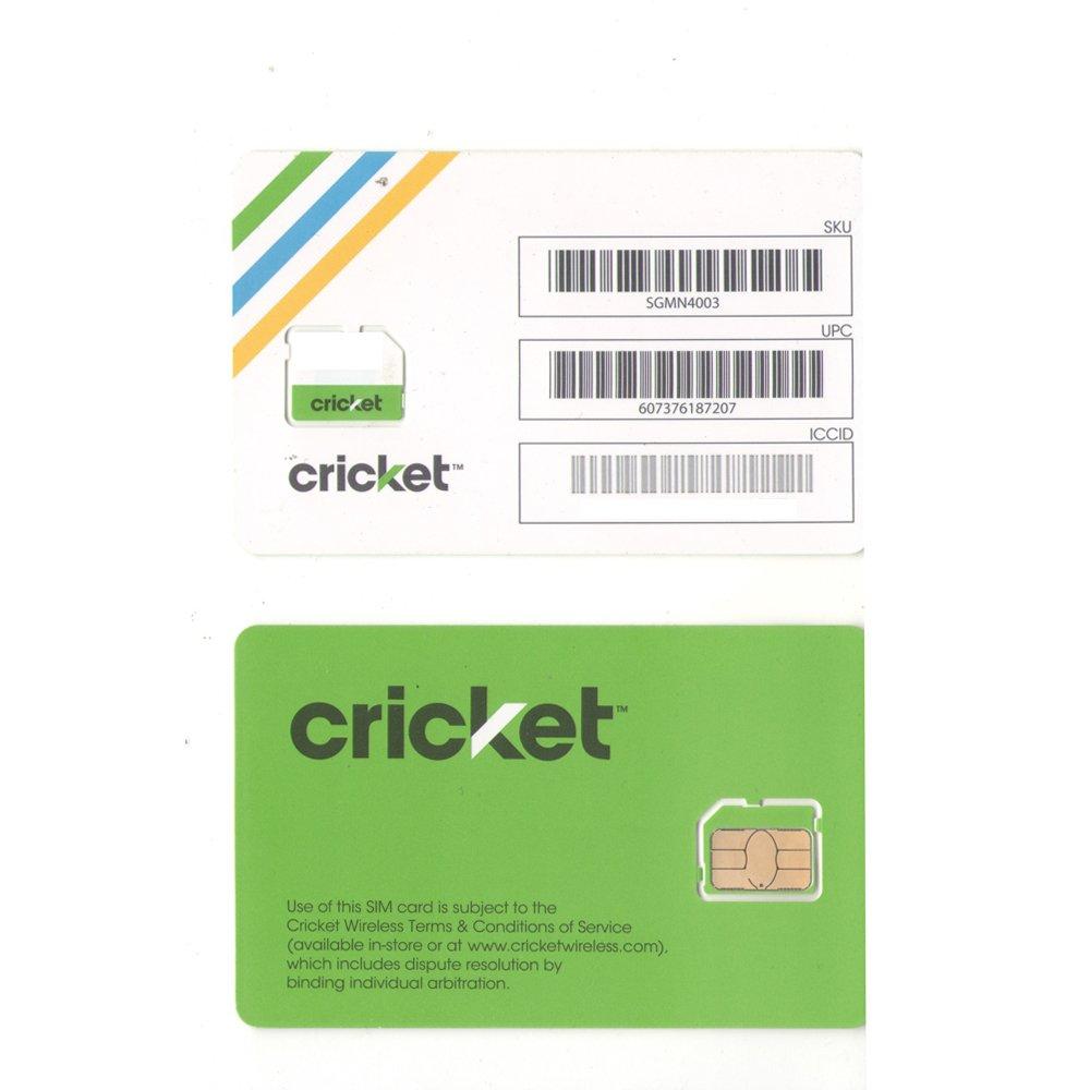 Cricket wireless customer service - Amazon Com Cricket 4g Smart Phone Micro Sim Card Cell Phones Accessories
