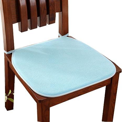 Amazon.com: Cojín de asiento de estilo europeo de color ...