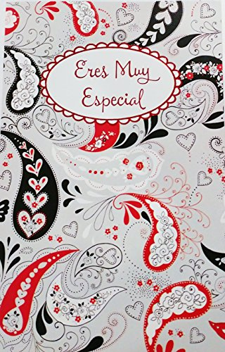 Eres Muy Especial / You're Someone Very Special - Romantic Valentine's Day / San Valentin Greeting Card in Spanish (Husband Wife Boyfriend Girlfriend)