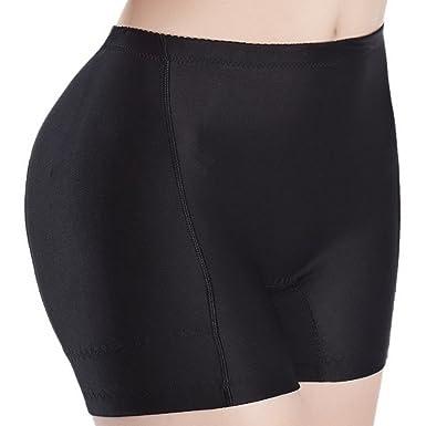 Aivtalk Damen Nahtlose Unterw?sche Kurze Atmungsaktive Shapewear Hip Up  Padded Unterhose Former H¨