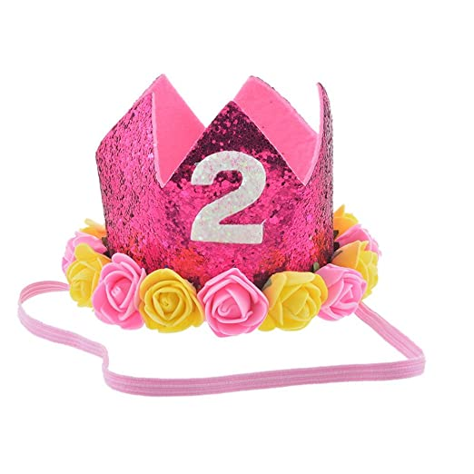 souarts Cumpleaños Sombrero bebé niños Corona sombrero ...