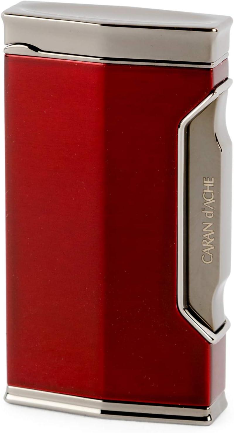 CARAN d'ACHE(カランダッシュ) ライター カランダッシュ01 バーナーフレーム 耐風仕様 CD01 ブラックニッケル/ダークレッド