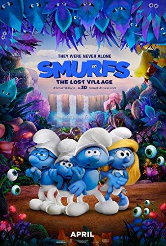 smurfs-the-lost-village-11x17-d-s-original-promo-movie-poster-2017-games-on-back