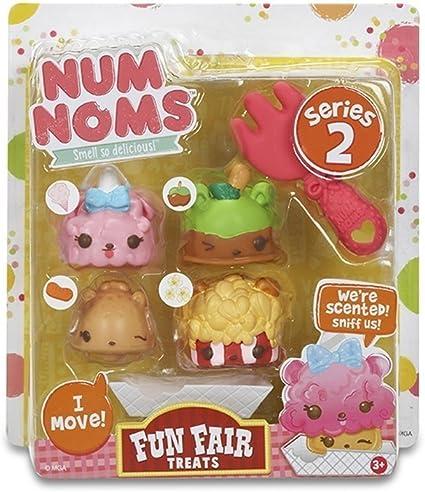 Num Noms - Fun Fair Treats, juego para cocinar (Bandai 544159) , color/modelo surtido: Amazon.es: Juguetes y juegos