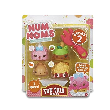 Num Noms - Fun Fair Treats, juego para cocinar (Bandai 544159)