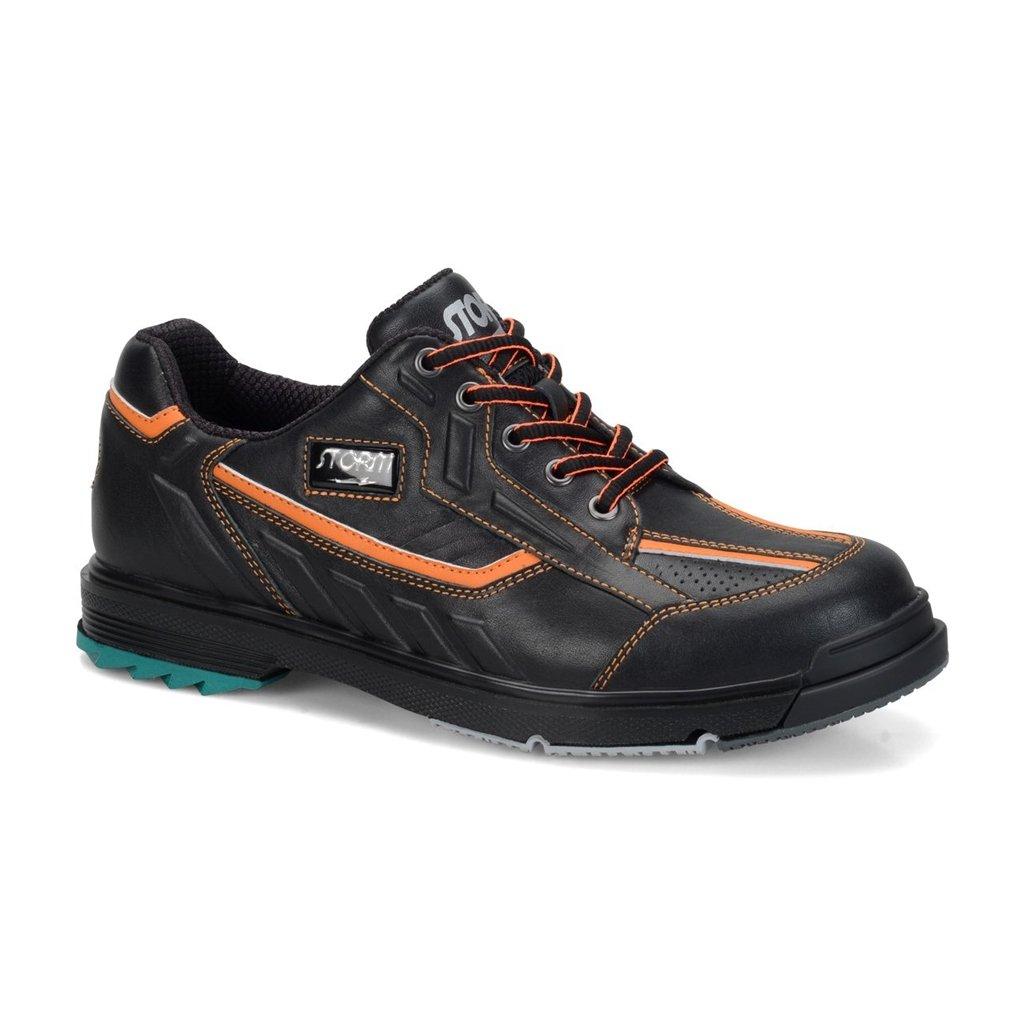嵐sp3メンズボーリング靴ブラック/オレンジ、12.0   B01HDQEE3M