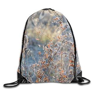 Trsdshorts Unisex Autumn Beautiful Branches Bright Print Drawstring Backpack Rucksack Shoulder Bags Gym Bag Sport Bag