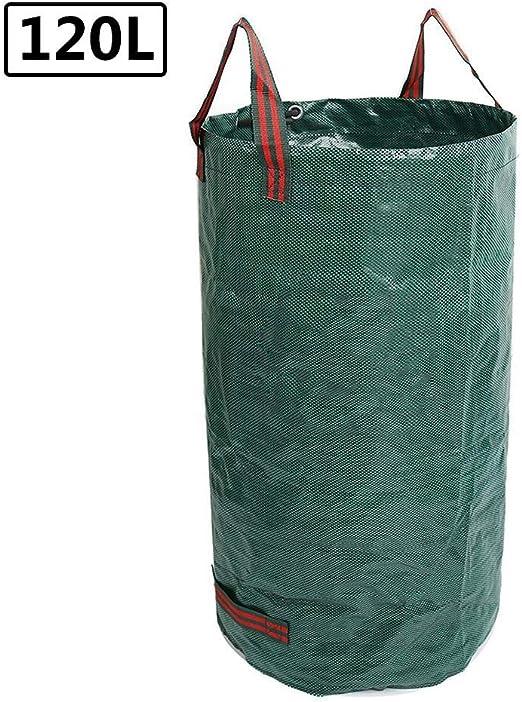 Cedarfiny - Bolsas de basura para jardín, reutilizables, resistentes, reutilizables, 120 L: Amazon.es: Hogar