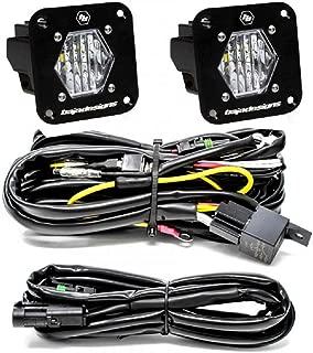 product image for Baja Designs S1 Pair Wide Cornering LED Light Pods Flush Mount Backup Kit 387808